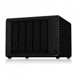 Synology Almacenamiento en Red NAS DS1019+ Celeron 8 GB RAM Negro
