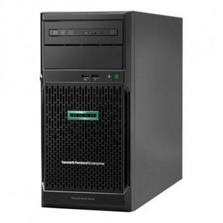 HPE Server Tower ProLiant ML30 Gen10 Xeon E-2124 8 GB RAM LAN Black