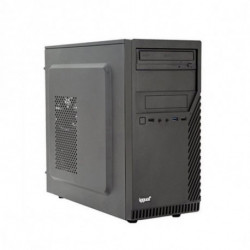 iggual PC de Sobremesa PSIPCH416 i7-8700 8 GB RAM 120 GB SSD Negro