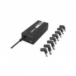 TooQ TQLC-65BS02AT power adapter/inverter Indoor 65 W Black