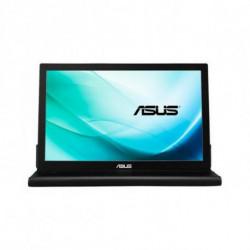 ASUS MB169B+ pantalla para PC 39,6 cm (15.6) Full HD LED Plana Negro, Plata 90LM0183-B01170
