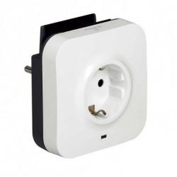Legrand Enchufe Pared con 2 Puertos USB 218985 USB 5V x 2 Blanco