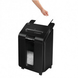 Fellowes Déchiqueteuse de Papier Coupe Fine AutoMax100M Noir