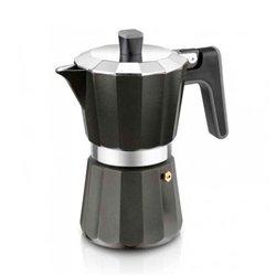 "Cafetera Italiana Black Edition BRA ""9 Tazas"""