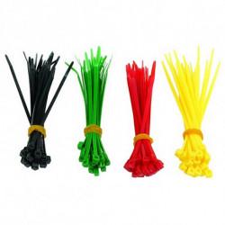 GEMBIRD Kabelbinder aus Nylon NCT-100 (100 uds) Bunt