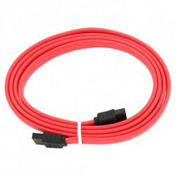 GEMBIRD Cable SATA CC-SATA-DATA-XL 600 Mbps (1 m) Rojo