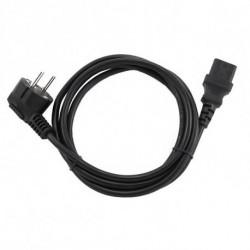 GEMBIRD Câble d'Alimentation PC-186-VDE (1,8 m) Noir