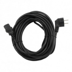 GEMBIRD Power Cord PC-186-VDE Black 5 m