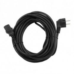 GEMBIRD Cable de Alimentación PC-186-VDE Negro 3 m