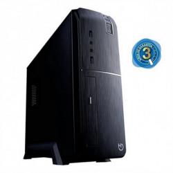 iggual PC de bureau PSIPC334 i3-8100 8 GB RAM 240 GB SSD Noir