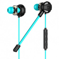 Hiditec Taiko Binaural In-ear Black,Turquoise GHE010002