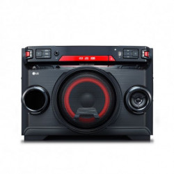 LG OK45 Mini sistema de áudio Preto, Vermelho 220 W OK45.DEUSLLK