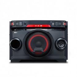 LG OK45 Système mini audio domestique Noir, Rouge 220 W OK45.DEUSLLK