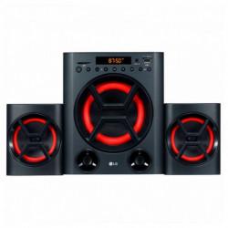 LG XBOOM conjunto de altavoces 2.1 canales 40 W Negro, Rojo LK72B