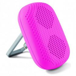 Haut-parleur portable cavec Mouqueton 1,5W Rose