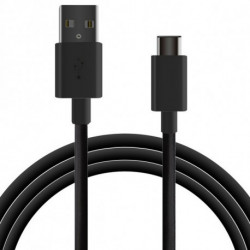 USB-C-Kabel auf USB 1 m Schwarz