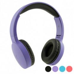 Auriculares de Diadema Plegables con Bluetooth Go & Play Travel Morado