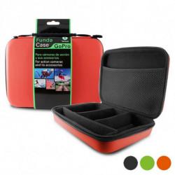 Coque Rigide pour Caméra de Sport (24 x 17,5 x 5 cm) Rouge