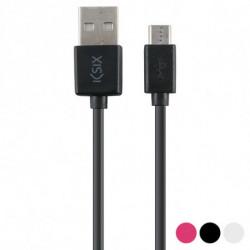 Câble USB vers Micro USB 1 m Rose