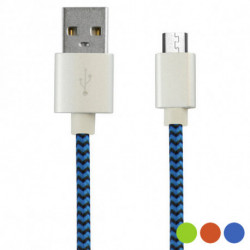 USB Cable to Micro USB 1 m Orange