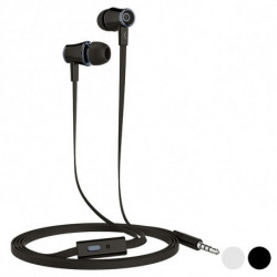 Headphones with Microphone Go & Play Small 3 3.5 mm Black
