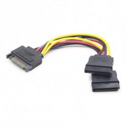 GEMBIRD Cable Alimentación SATA CC-SATAM2F-01 (15 cm)