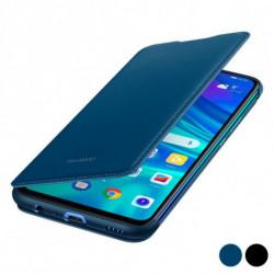 Huawei Capa Livro P Smart 2019 Flip Cover Couro Preto