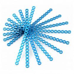 Makeblock Conector Largo Cortable 16 cm Azul (10 Uds)