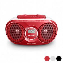 Philips AZ215R/12 sistema estéreo portátil Digital 3 W Rojo