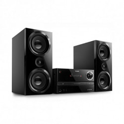 Philips BTM3360/12 sistema de audio para el hogar Microcadena de música para uso doméstico Negro 150 W