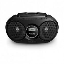 Philips Rádio CD AZ318B/12 FM 3W Preto