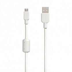 Sony CP-AB150 USB cable 1.5 m 2.0 USB A Micro-USB B White CP-AB150W