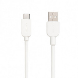 Sony CP-AC100 cable USB 1 m USB A USB C Blanco