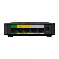 Zyxel GS-105S v2 Gigabit Ethernet (10/100/1000) Black GS-105SV2-EU0101F