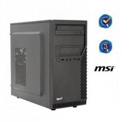 iggual PC de bureau PSIPCH422 i5-8400 4 GB RAM 500 GB HDD Noir