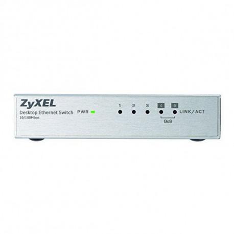 Zyxel ES-105A Não-gerido Fast Ethernet (10/100) Prateado ES-105AV3-EU0101F