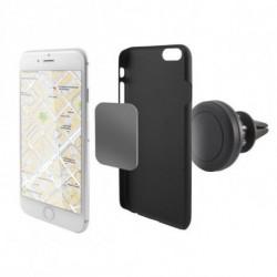 Support Magnétique pour Téléphone Portable pour Voiture 360º Noir