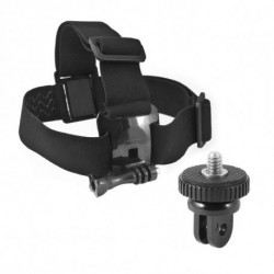 Head Harness for Sports Camera Black
