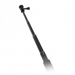 Selfie Stick for Sports Camera Black