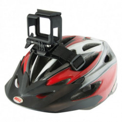 Support strap for Sports Camera for Bicycle Helmet Black