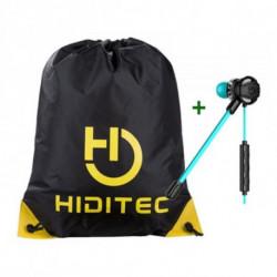 Hiditec Casques avec Microphone + Sac à dos serré par des ficelles PAC010008
