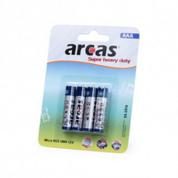 Pilas AAA/R03 1,5V (4 uds) 142309 AAA/R03