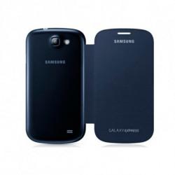 Samsung Flip cover Galaxy Express funda para teléfono móvil Libro Azul EF-FI873BLEGWW