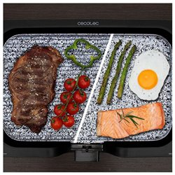 Plancha de Cocina Cecotec Rock and Water 3000 Twin 2200W