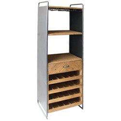 Bottle rack Metal & Wood (59 x 179 x 39 cm)