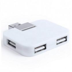 4-Port USB Hub 145577 Weiß