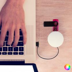 Hub USB 4 Portas 145199 Vermelho