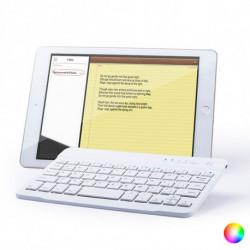 Wireless Keyboard Bluetooth 144935 Yellow QWERTY (Ñ)