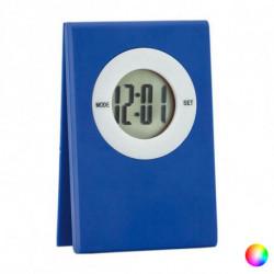 Reloj Digital de Sobremesa con Clip 143232 Azul