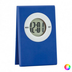 Reloj Digital de Sobremesa con Clip 143232 Negro